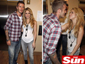 Beckham and Shakira
