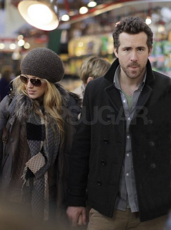 Blake Lively & Ryan Reynolds in Vancouver