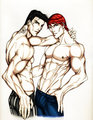 Blay und Qhuinn  - the-black-dagger-brotherhood fan art