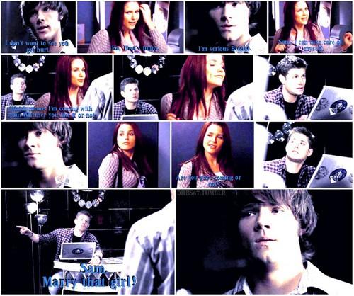 """Bram/Dean - """"Sam. Marry that girl!"""""""