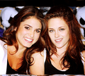 CUTE - nikki-reed-and-kristen-stewart photo