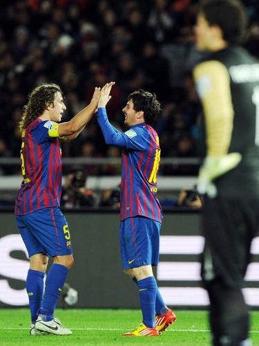 Carles Puyol: Santos FC (0) v FC Barcelona (4) - FIFA Club World Cup [Final]