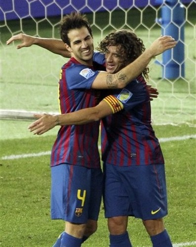 Cesc Fabregas: Santos FC (0) v FC Barcelona (4) - FIFA Club World Cup [Final]