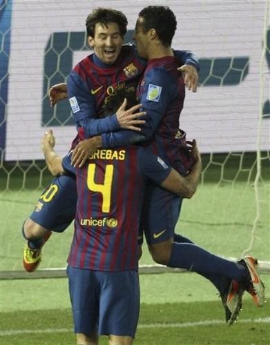 Cesc Fabregas: Santos FC (0) v FC Barcelona (4) - FIFA Club World Cup [Final]