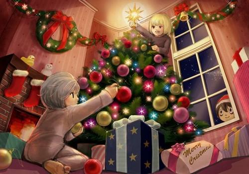 মৃত্যুর চিঠি দেওয়ালপত্র called Christmas!