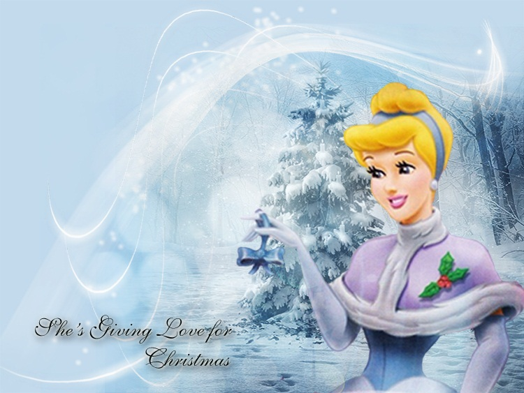 Disney Christmas Images Cinderella 3 Princess HD Wallpaper And Background Photos