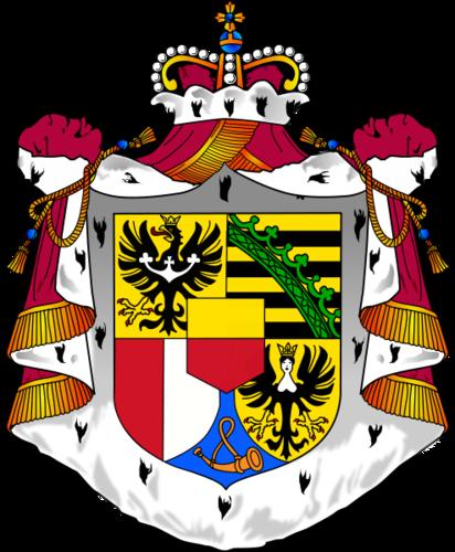 casaco of arms of Liechtenstein