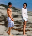 Dalena manip:  On the beach - dalena fan art