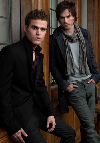 Damon and Stefan <333 - the-vampire-diaries Photo