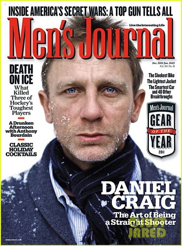 Daniel Craig Covers 'Men's Journal' January 2012