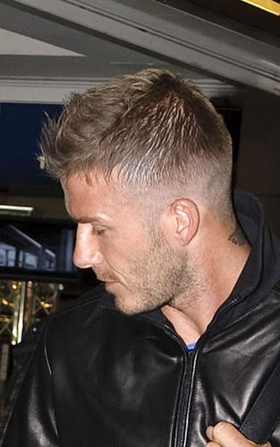 David Beckham hairstyle