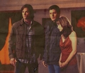 Dean, Haley, and Sam - one-tree-hill-and-supernatural photo