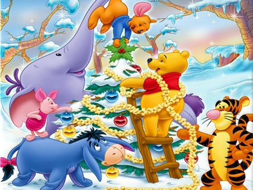 Disney Christmas wallpaper called Disney-Christmas
