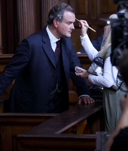 Downton Christmas Behind Scenes