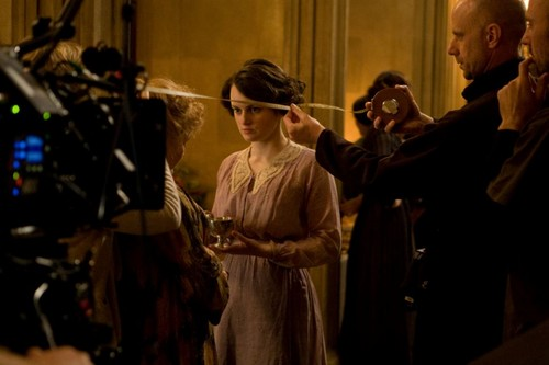 Downton Christmas Special Behind Scenes