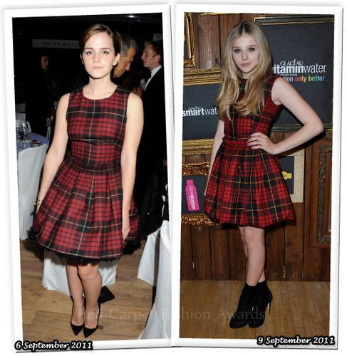Emma Watson VS Chloe Moretz