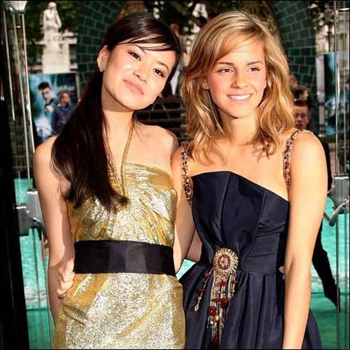 Emma Watson and Katie Leung