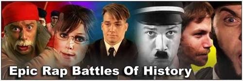 Epic Rap Battles of History wallpaper entitled Epic Rap Battles of History