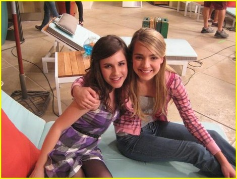 Erin and Katelyn