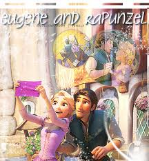 Tangled wallpaper entitled Eugene and Rapunzel