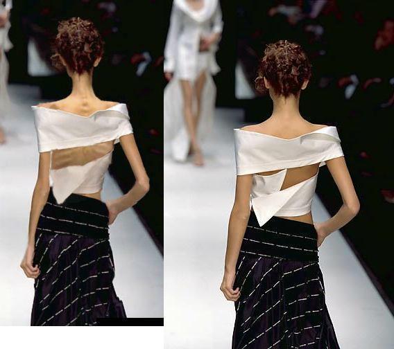 Faked skinny 模特