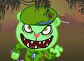 Flippy in jungle