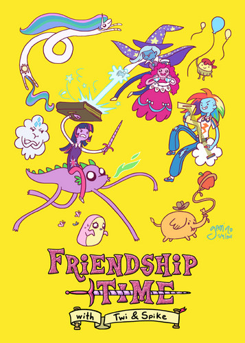 Friendship Time with Twi & Spike