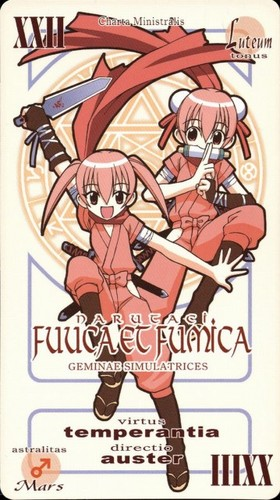 Fuka and Fumika's Pactio Card