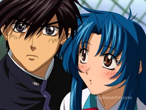 FULL METAL PANIC wallpaper with anime titled Full Metal Panic ( Kaname & Sousuke )