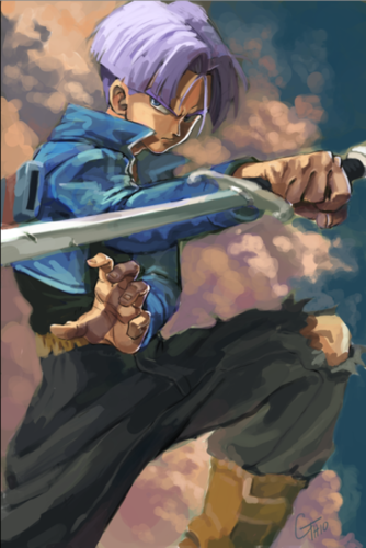 Dragon Ball Z wallpaper titled Future Trunks