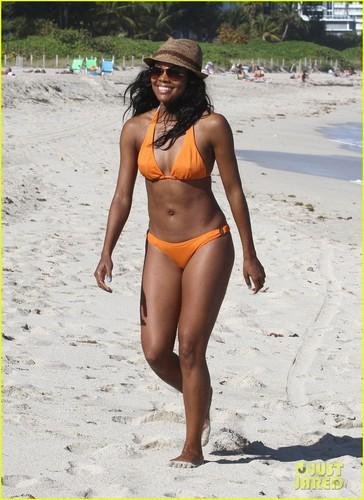 Gabrielle Union: Bikini Babe in Miami!