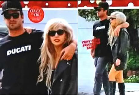 Gaga and Taylor in San Diego