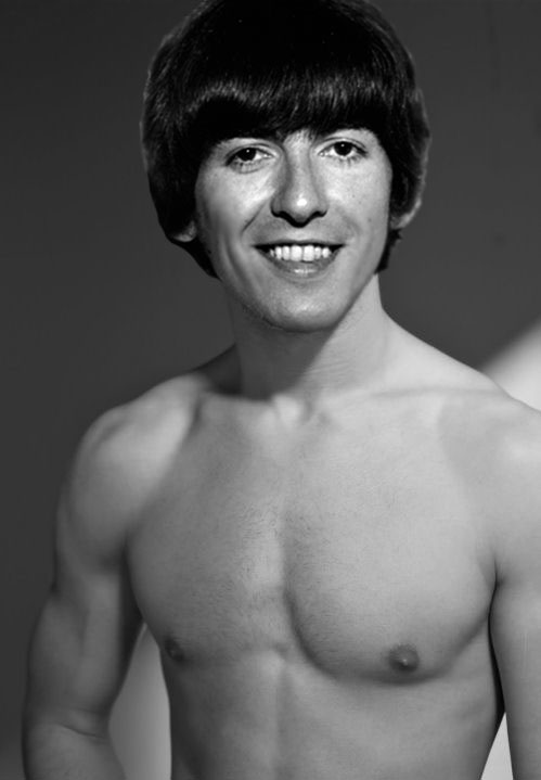 George Harrison superiore, in alto Naked