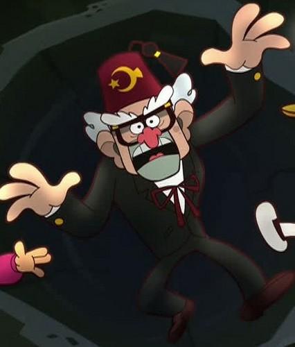 디퍼와 메이블의 미스테리 모험 바탕화면 entitled Gravity Falls