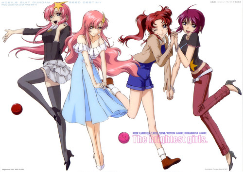Gundam SEED Destiny Girls