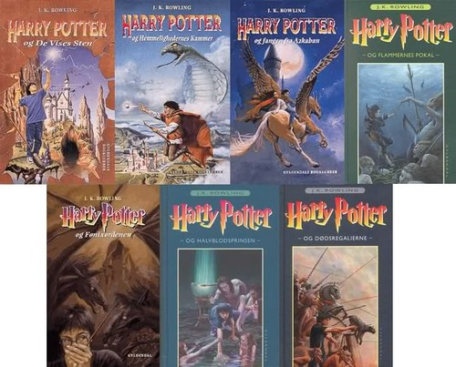 HP BOOKS COVERS
