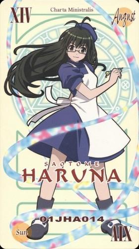Haruna's Pactio Card