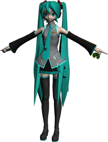 Hatsune Miku Dreamy Theater Model