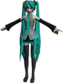 Hatsune Miku Dreamy Theater Model - project-diva fan art