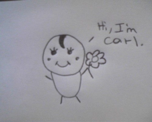 Болталка Обои entitled Hi, I'm Carl!