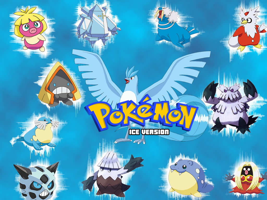 Ice type pokemon coloring pages - Ice Type Pokemon Coloring Pages