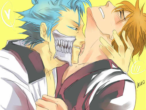 Yaoi images Ichigo and Grimmjow wallpaper and background photos