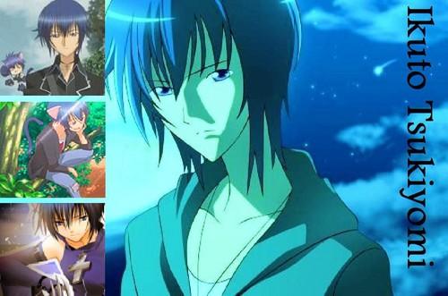 Ikuto Tsukiyomi fond d'écran containing animé called Ikuto