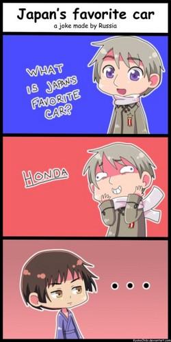 Japan's favorito Car