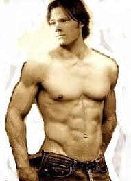 Jared Padalecki wallpaper with a six pack entitled Jared Padalecki