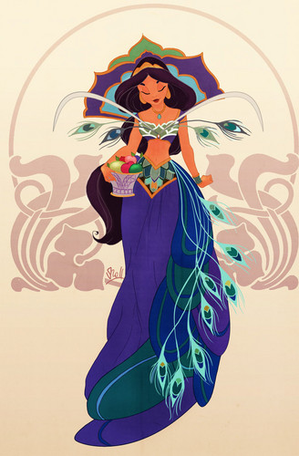 Jasmine - princess-jasmine Fan Art