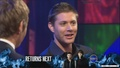 Jensen At Good News Week - Feb 11, 2008 - jensen-ackles screencap
