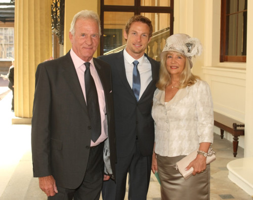 Jenson with his parent..i meant my parent too ;)
