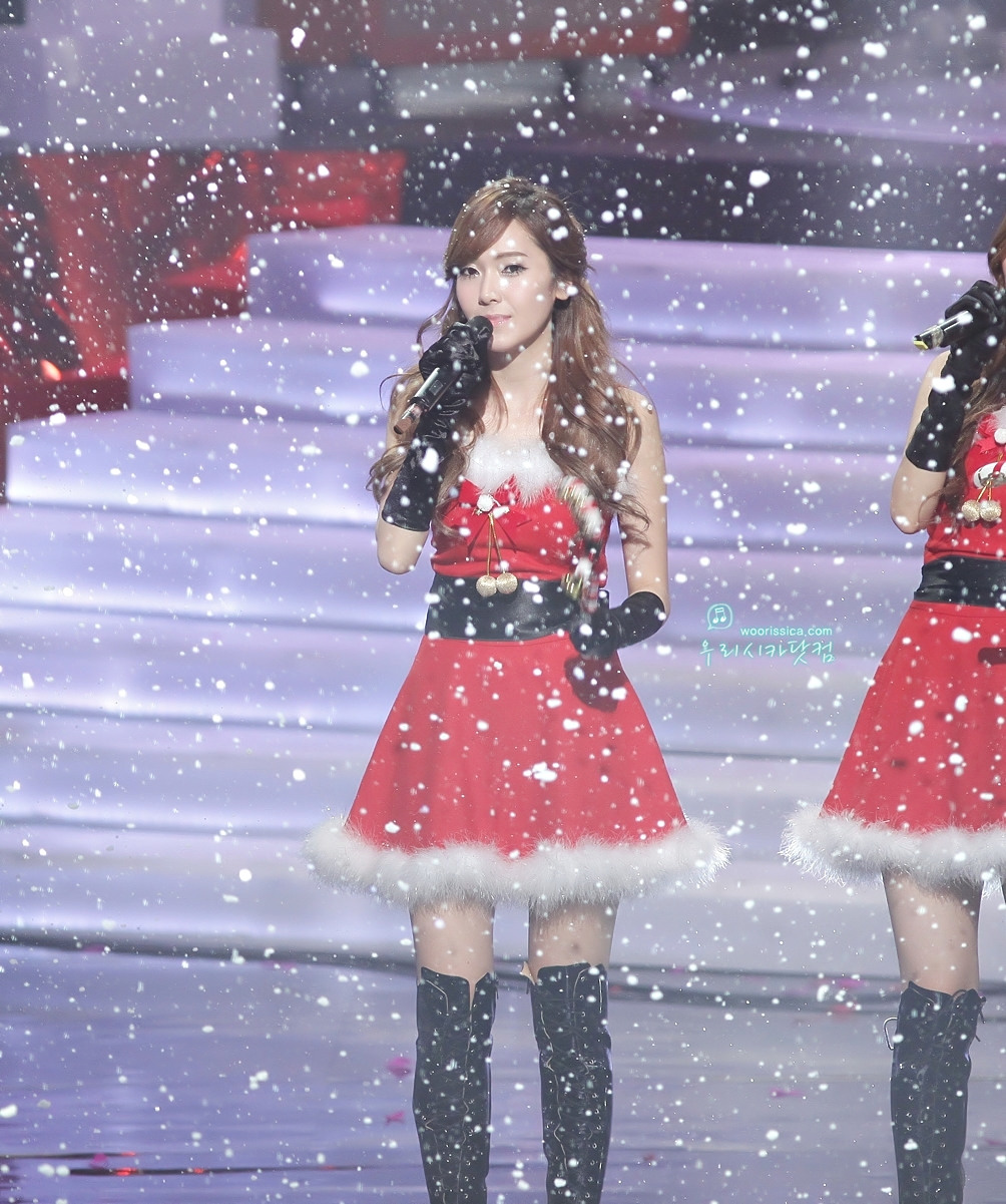 Jung Sisters images Jessica @ MBC Christmas Special HD wallpaper and ...