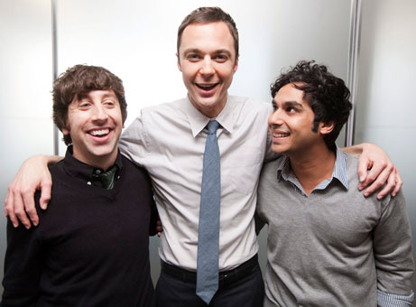 Jim, Simon and Kunal - jim-parsons Photo